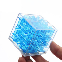 $enCountryForm.capitalKeyWord Australia - 3d Mini Speed Cube Maze Magic Cube Puzzle Game Cubos Magicos Learning Toys Labyrinth Rolling Ball Toys For Chilren Adult Aq1563