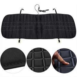 Auto Seat Warmers Australia - Car rear Seat Heated Cushion Warmer 12V Auto seat Winter Heating Car Cover Heater Cold Weather Protection Warm-Keeping