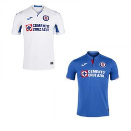 1b7b460607f 2019 2020 Mexico Club Cruz Azul Liga MX Soccer Jerseys 19 20 Home Away Football  Shirts camisetas de futbol S-XL