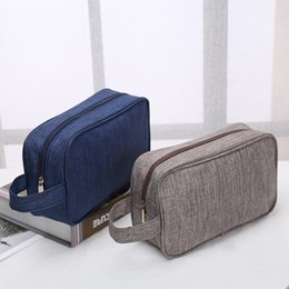 deals handbags 2021 - 2020 Old Cobbler direct deal Customized logo Cosmetic Bag Washed cloth Outdoor sport Zipper handbag fashion Storage bag