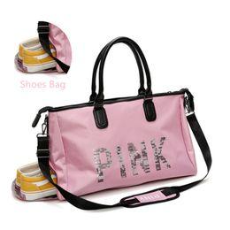 2019 Waterproof Shoulder Sports Gym Bag for Shoes Bags Women Fitness Yoga  Training Men Gymtas Tassen Sac De Sport Tas f573702e8c3d3