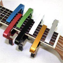 $enCountryForm.capitalKeyWord Australia - High Quality Aluminium Alloy Metal New Guitar Capo Quick Change Clamp Key Acoustic Classic Guitar Ukulele Capo For Tone Adjusting 0816ayq