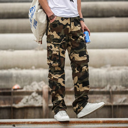 Cargo Pants Men Camouflage Tactical Pants Army Style Combat Clothing Male Jogger Multi Pocket Camo Trousers1