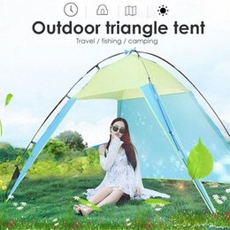 durable beds UK - Beach Sunshade Tent Outdoors Bedding Travel Hiking Folding Tent Camping Durable 170T Polyester Hanging Bed Mosquito Net DXnL#