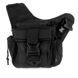 $enCountryForm.capitalKeyWord Australia - Molle Tactical Shoulder Strap Bag Pouch Travel Backpack Camera Bag Black