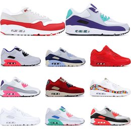 Football beach online shopping - 2019 running shoes for men Infrared University Red South Beach Grape International triple white black sports sneakers trainers size