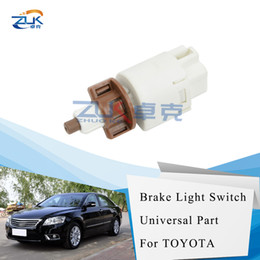 toyota camry lights Canada - ZUK Stop Lamp Switch Brake Light Switch For Toyota CAMRY LAND CRUISER PRADO For LEXUS ES240 350 GX470 84340-69015 8434069015