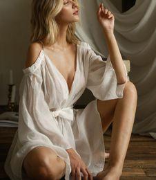 $enCountryForm.capitalKeyWord Australia - Free size hot sale ladies nightwear off shoulder Lingeries waist tie sheer mesh dress women sexy sleepwear #S335