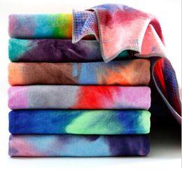 Anti-Rutsch-Yoga-Matte Handtücher Hot Yoga Handtuch Matten Matte für Fitness-Matte Abdeckung Taschen Pilates Yoga Decke hohe Qualität im Angebot