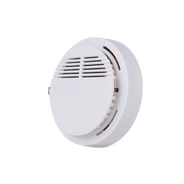 China Smoke Detector Alarms System Sensor Fire Alarm Detached Wireless Detectors Home Security High Sensitivity Stable LED 85DB 9V Battery DHL suppliers