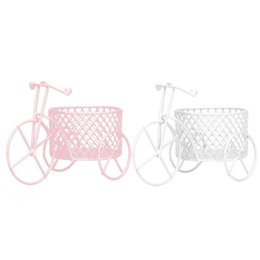 $enCountryForm.capitalKeyWord UK - HOT SALE! Cute Iron Tricycle Art Decoration Wedding Sugar Jewelry Container Storage Holder