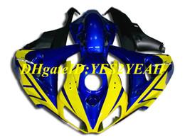 $enCountryForm.capitalKeyWord UK - First-class Motorcycle Fairing kit for Honda CBR1000RR 06 07 CBR 1000RR 2006 2007 CBR1000 ABS Yellow blue Fairings set+Gifts HH65