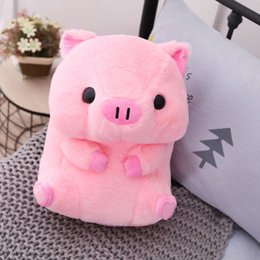 fat cat doll Canada - Soft Pig Big Doll 40cm Fat Round Pig Plush Toy Stuffed Animals Doll Baby Piggy Kids Appease Pillow For Girls Lover Chrismas Gift