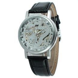 $enCountryForm.capitalKeyWord Australia - Forsining Brand Luxury Mens Watches Male Chinese Dragon Skeleton Design Wrist Watch Transparent Case Mechanical Golden Watch SLZe56
