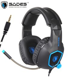 $enCountryForm.capitalKeyWord NZ - heap Headphone Headset SADES SA818 PS4 Gaming Headset Casque PC Gamer Headphones with Microphone for New Xbox One Controller Laptop Mobil...