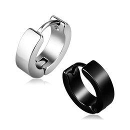 $enCountryForm.capitalKeyWord Australia - ONEVAN New Korean Fashion Titanium Steel Earrings For Men Women Party Trend Punk Unisex Earring Hypoallergenic Ear Jewelry Gifts
