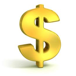 venda por atacado Para o custo da expedição extra ou pagamento Balance adicional apenas como acordo que