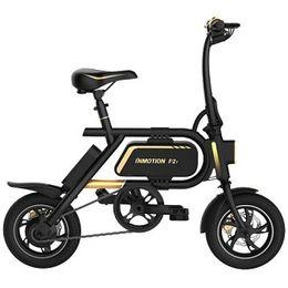 Toptan satış INMOTION P2F Katlanır Elektrikli Bisiklet Akıllı Bisiklet 23.2Ah Pil - SIYAH AB TAK