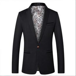 $enCountryForm.capitalKeyWord Australia - Men's new men's large size suit five-color European and American solid color single row one button casual suit men