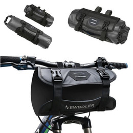 $enCountryForm.capitalKeyWord NZ - New 2019 Bicycle Front Tube Water Resistant Bag Bicycle Handlebar Basket Cycling Front Saddle Bags Accessories