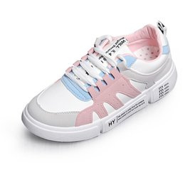 Light Up Shoes Women Australia - Women Sneakers Shoes New Arrivals Fashion Feminino Light Breathable Leather Surface Shoes Women Casual Shoes Fast Delivery