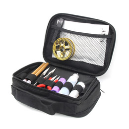 $enCountryForm.capitalKeyWord UK - Double-deck Vape Pocket Vapor Tool Wire Bottle Kit Bag For RTA RBA RDA Mods Box Battery DIY Tools Carry Bag Case Vape