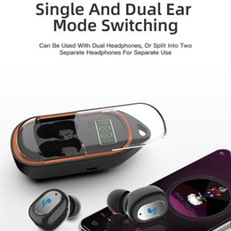 bluetooth headset models Canada - TWS Wireless Headphones Bluetooth V5.0 Earphones with Charging Box X21S Stereo Earbuds New Pattern Slide Cover Headsets Private Model Slide