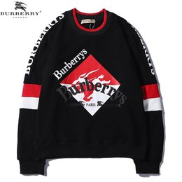 Discount clothing printing london - 19SS Mens Designer Hoodies Classic Embroidery Letter England Of London BUR Designer Hoodie Jackets Women Clothes