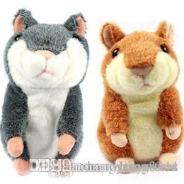 Say Toys Australia - Speaking kid Toy Russian Talking hamster wooddy time stuffed animal toys repeat what u said in any language