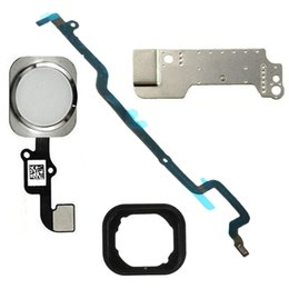 Ring foR iphone home button online shopping - Home Button Cable Assembly with Rubber Ring metal bracket Mainboard Connector Flex Replacment Part for iPhone plus