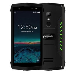 mobile phones indonesia 2019 - POPTEL P8 IP68 Waterproof mobile phone Android 8.1 MTK6739 Quad Core 5.0 inch 3750mAh 2GB+16GB 8MP Face ID NFC 4G LTE sm