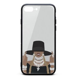 Middle Case Iphone Australia - IPhone 8 Plus Case iPhone 7 Plus Case Beyonce Cartoon middle finger grey nice skid-proof TPU Soft Rubber Silicone Cover Phone Case