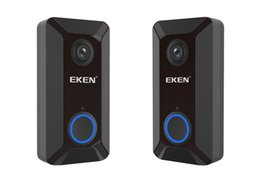 $enCountryForm.capitalKeyWord NZ - EKEN V6 wifi Doorbell Smart Wireless 720P video camera Cloud storage door bell cam waterproof home security house bell