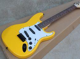 $enCountryForm.capitalKeyWord UK - Free shipping Factory custom guitar, white shield, black pickup, Rosewood fingerboard, customizable, free delivery