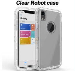 $enCountryForm.capitalKeyWord Australia - Transparent Heavy Duty Defender Case Shock Absorption Crystal Clear Case For Iphone XS Max XR 8 Plus for Samsung S10 s10e s10plus No Clip