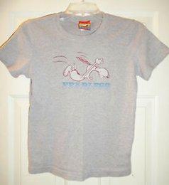 Snoopy Shirts Australia - Peanuts Snoopy Gray Fearless Shirt XL 2003 DOE Mighty Fine Juniors