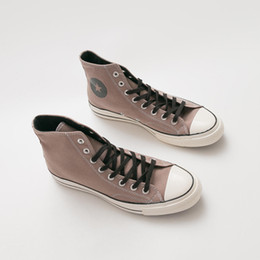 original star canvas shoes NZ - Unisex Canvas High Top Shoes Women Men Originals Classic Lace Up All One Star 1970s OX Lovers Factory Price Sneaker Shoes Size 35-44 qq056