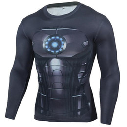 Jerseys Wolf Australia - Mens Compression Shirts 3D Teen Wolf Jerseys Long Sleeve T Shirt Fitness Men Lycra MMA Crossfit T-Shirts Tights Brand Clothing C9
