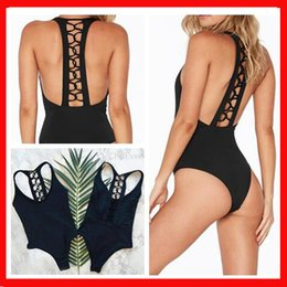 $enCountryForm.capitalKeyWord NZ - Bikini suit swimsuit female 2019 new fashion design solid color strap bikini sexy backless hollow one-piece swimsuit women