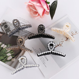 Rhinestone Hair Claws Clip Australia - 20Pcs Elegant Pearls Hairpins Ornaments Hair Clip Rhinestone Crab Hair Claws Women Headwear Hair Styling Tools