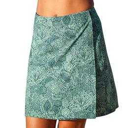 e77f503320 Jaycosin clothes Women Print Skirts Quick Wrap Bikini Cover-up Multitasks  Travel Lady Beach Summer Skirt