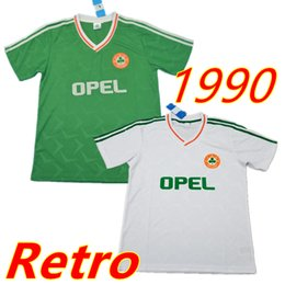 583ee3a0f Vintage Soccer Jerseys Canada - retro classic vintage Ireland Size S-XXL  thailand 1990 1992