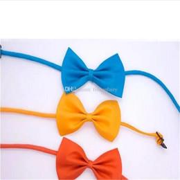 Tie Necktie Bow Dogs Australia - Adjustable Pet Dog Bow Tie Cat Necktie Cheap Wholesale Cute Children Tie Dog Clothing Apparel Accessories a648-a654 2017121606