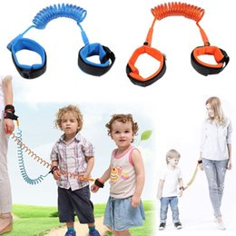 Discount leash children - Child Safety Harness Leash Anti Lost Adjustable Wrist Link Traction Rope Wristband Belt Baby Kids baby walkers