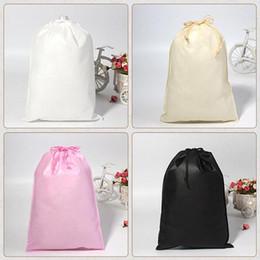 Drawstring unDerwear online shopping - New Drawstring Bag Men Women Reusable Travel Packing organizer Dustproof Cosmetic Underwear Toiletry Storage Pouch