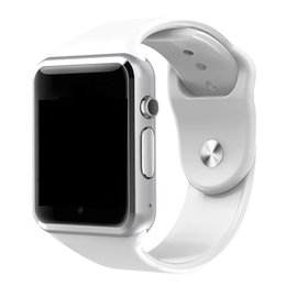 Smart watch ioS iphone online shopping - A1 Smart watch Bluetooth Smartwatch for IOS iPhone Samsung Android Phone Intelligent Clock Smartphone Sports Watches Hot Sale