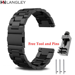 Replacement Bracelet Watch Bands Australia - General Watch Bands Quick Release Bracelet Width 18   20   22mm   24mm Stainless Steel Strap Wrist Replacement Watch Bands General