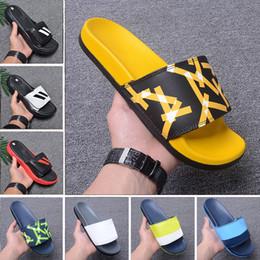 577110348 2019 Flip Flops slipper Gear bottoms mens striped sandals causal Non-slip  summer men Scuffs huaraches slippers flip flops slipper 40-45
