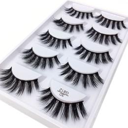 $enCountryForm.capitalKeyWord NZ - 5pairs set False EyeLashes 5 Pairs 3D Natural Long Fake Eyelashes G812 Handmade Makeup Tools Accessories