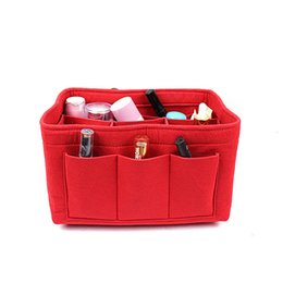 Mse Products Australia - 4 sizes Felt Cosmetic Wholesale Buty & Products Cosmetic Bags Cases Large Capacity Portable Cosmetic Bag Ms. Travel Large Wash Bag AC1118